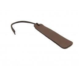Lesezeichen Büffelleder - Buffalo Chocolate XL - Personalisierbar