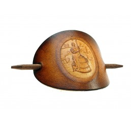OX Antique Cameo Mette - Haarspange Leder & Holz