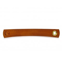 Leder Lineal - OX RAW Ruler Lion - 20