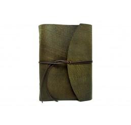 Buffalo Crust Raw - Lederbuch - DIN A4 - 400 Seiten