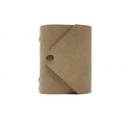Pocket Letter Stony - Lederbuch DIN A7 - 400 Seiten