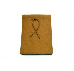 Lederbuch Buffalo Sketch Caramel - A6