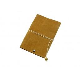 Lederbuch Travel Memory Caramel - A6