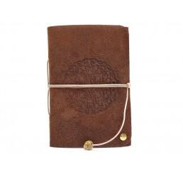 Lederbuch Travel Memory Mandala Bamby - A6