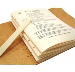 Prolog Epilog Druck für DIN A6 Bücher