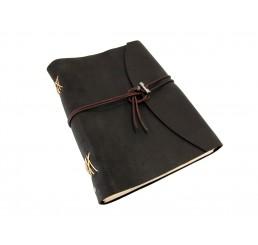 Buffalo Classic Mocca - Lederbuch - DIN A4 - 400 Seiten