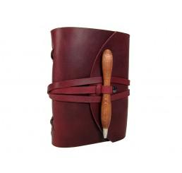 OX Pen Bloody - Lederbuch DIN A5 - 400 Seiten