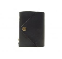 Pocket Letter Blacky - Lederbuch DIN A7 - 400 Seiten