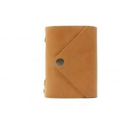 Pocket Letter Honey - Lederbuch DIN A7 - 400 Seiten
