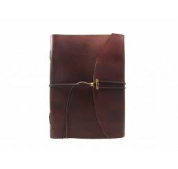 soft OX Classic Maroon - Lederbuch - DIN A4 - 600 Seiten