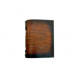 soft OX Easy Coco - Lederbuch - DIN A6 - 400 Seiten