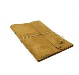Lederbuch Travel Memory Caramel - A5