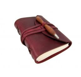 OX Pen Bloody - Lederbuch DIN A6 - 400 Seiten