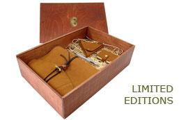 Limitierte Lederbuch Auflagen