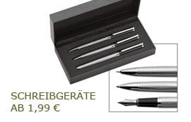 Schreibgeräte schon ab 1,99 EUR